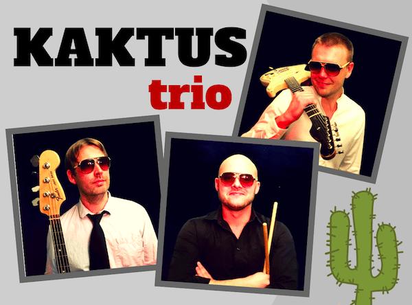 Kaktus trio Book Bryllupsband